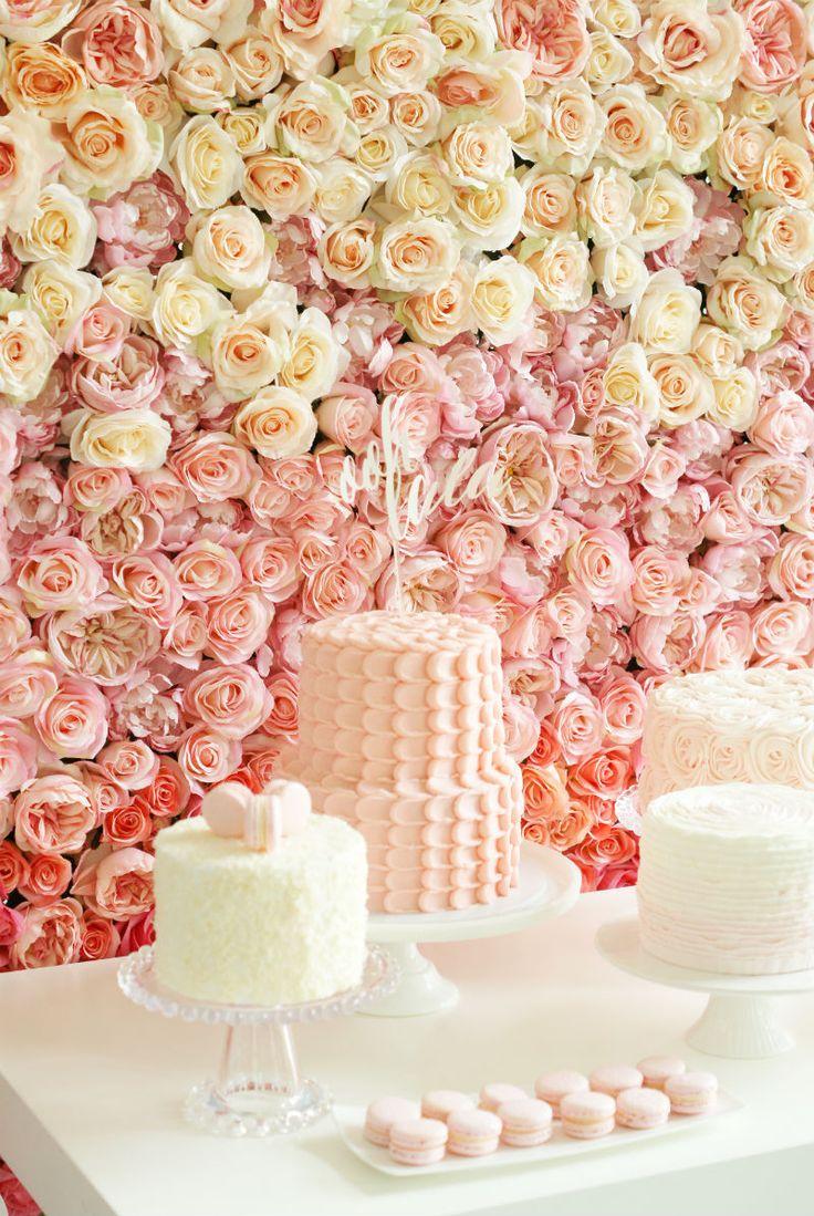 Участник Общества: Розовый Ombre Десертный Стол