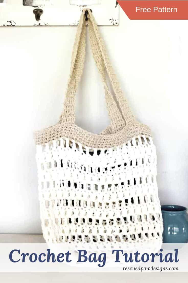 Beginner Crochet Market Tote Bag Crochet Pinterest Crochet