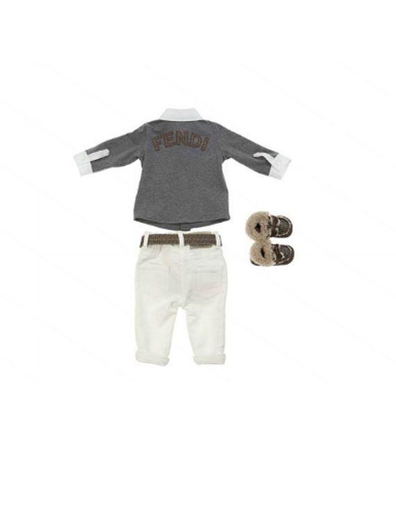 Fendi Otoño Invierno 2012 Baby Boy Clothing Collection