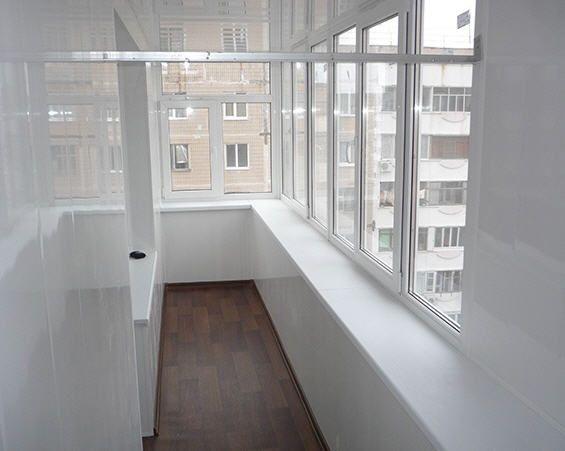 лоджия с панорамными окнами