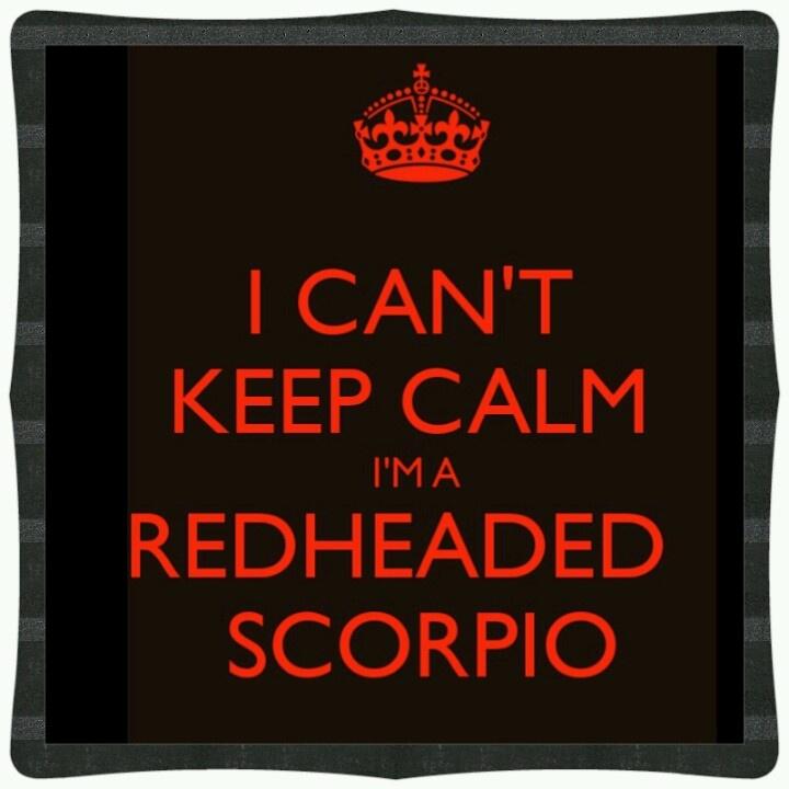 Redhead scorpio