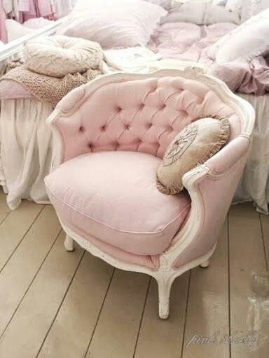 The guest room chair would be lovely with this tufted look instead of the channel back.... Very similar back.......