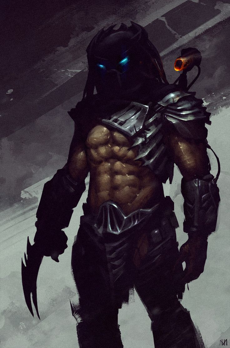 Predator, Nagy Norbert on ArtStation at https://www.artstation.com/artwork/qOga2