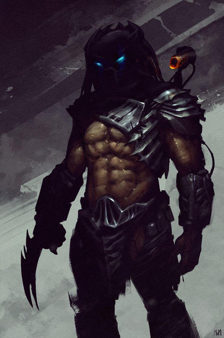 Predator, Nagy Norbert on ArtStation at https://www.artstation.com/artwork/qOga2