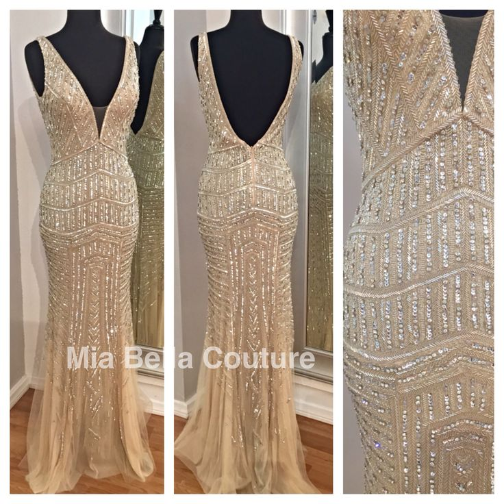 New arrival at Mia Bella. Jovani Couture Collection. Style 20736. Available in Silver/Nude. mia bella couture. jovani. jovani fashions. couture gowns. couture collection. pageant. evening gown. road to the crown. miss usa. ootd.