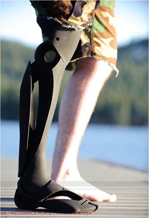 Industrial designer Scott Summit makes beautiful prosthetics 3d printed
