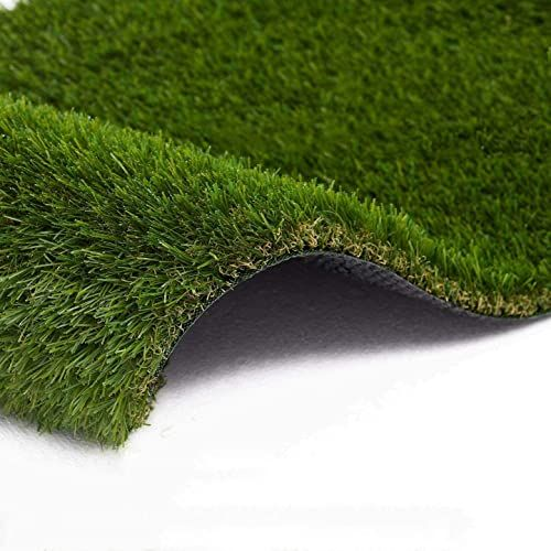 New Zet Artificial Grass 7 X 13 91 Square Ft Realistic Fake Grass Deluxe Grass Thick Lawn Pet Turf Carpet Perfect In 2020 Pet Turf Outdoor Landscaping Fake Grass