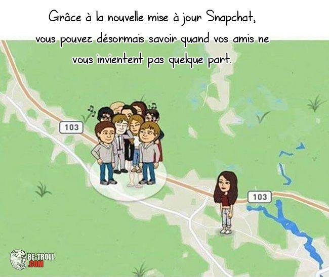C'est cool Snapchat... - Be-troll - vidéos humour, actualité insolite