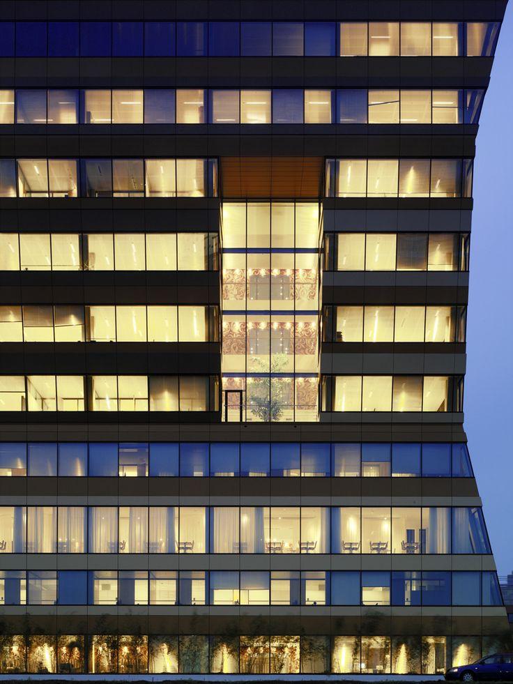 Menzis office building closeup