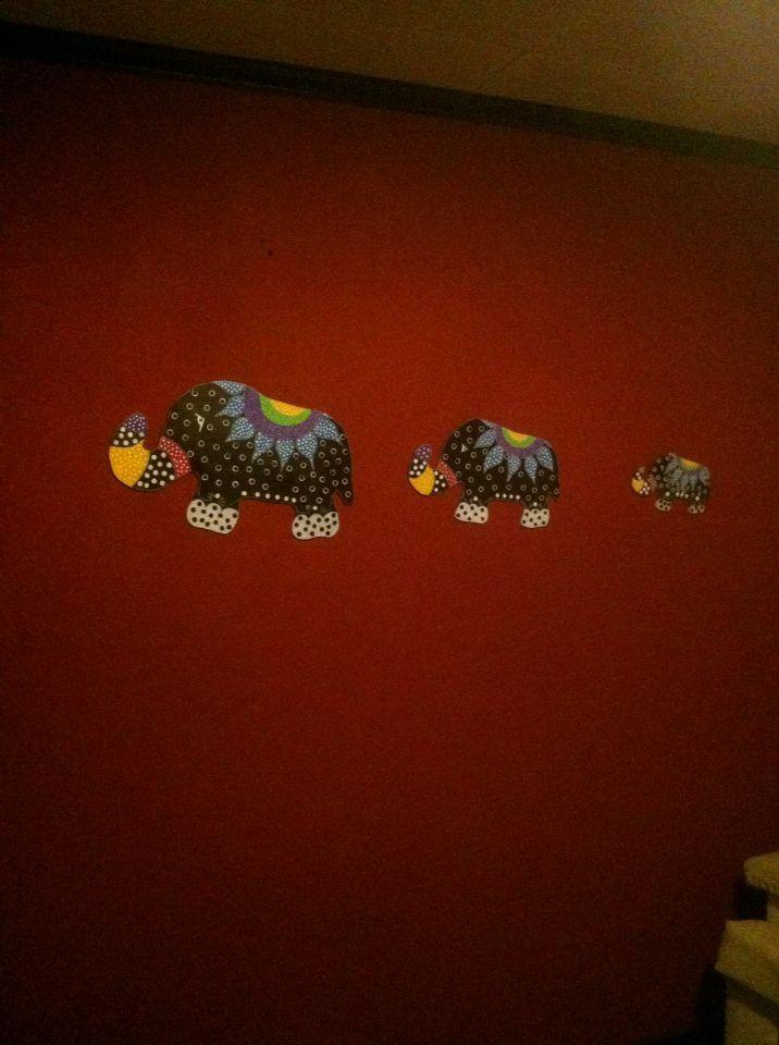 Tres tamaños de elefantes