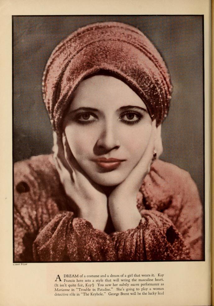 Kay Francis Photoplay (Jan - Jun 1933)