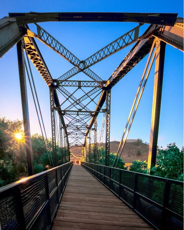 I love running or cycling along the  Iron #Horse #Trail http://www.visitcalifornia.com/Inside-Scoops/Hike-Santa-Clarita/