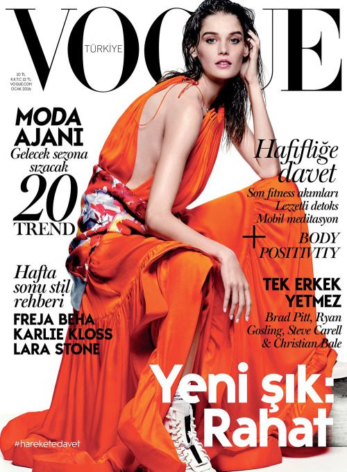 Vogue Turkey January 2016