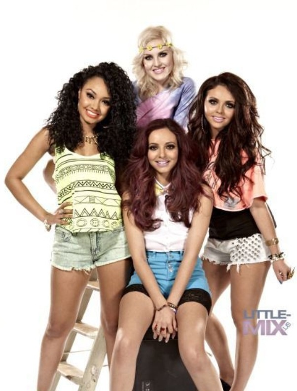 Little Mix ❤I love little Mix,and their music is fave!Their names are Perrie,going out with zayn btw,Jessy,Leigh Ann,and Jade just in case you don't know them.