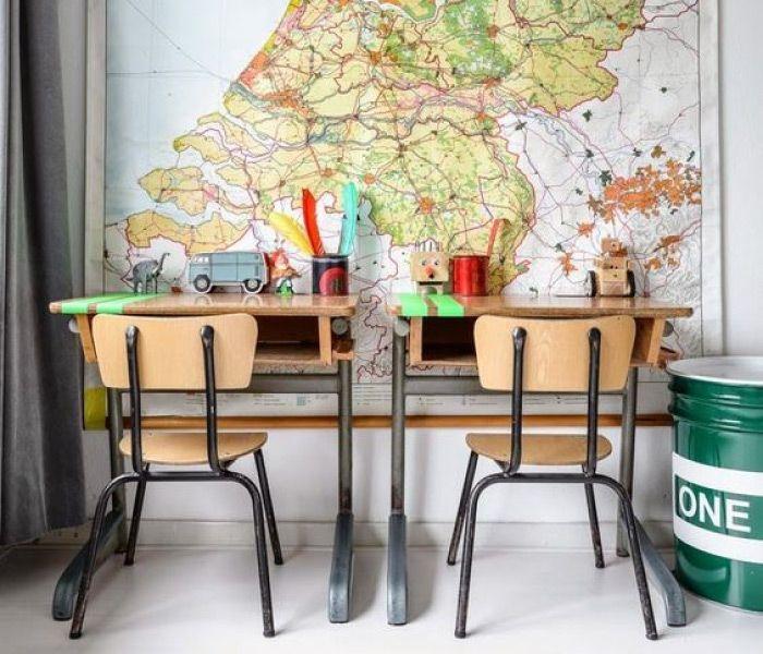 Oltre 1000 idee su banchi di scuola su pinterest vecchi - Ideas para decorar un estudio ...