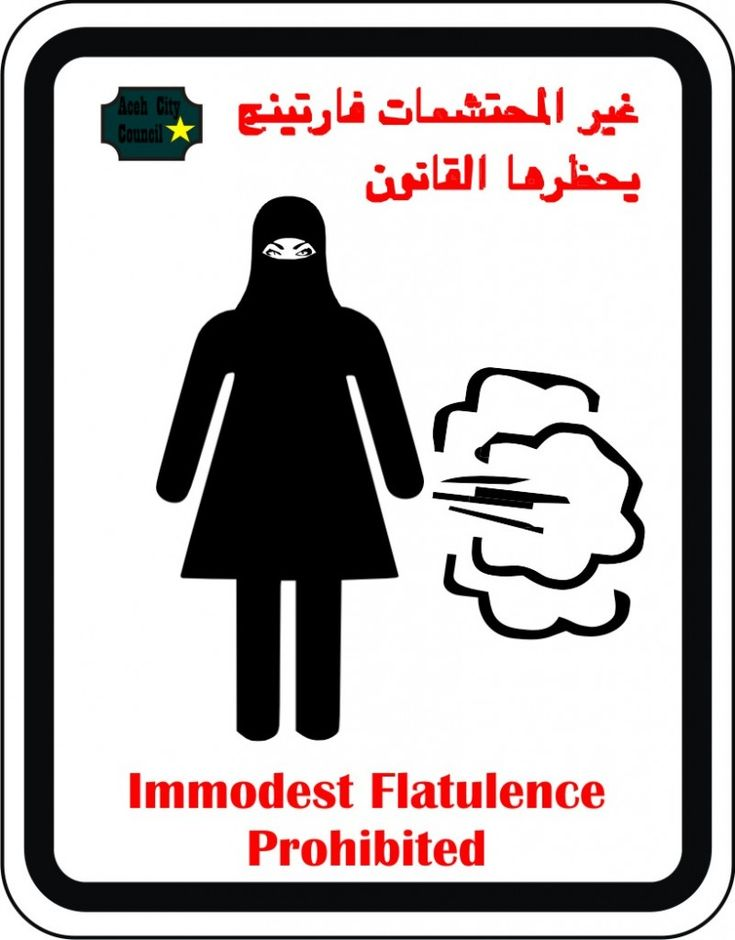 Muslim women are not allowed to fart in Indonesia -- From an award-winning feminist....