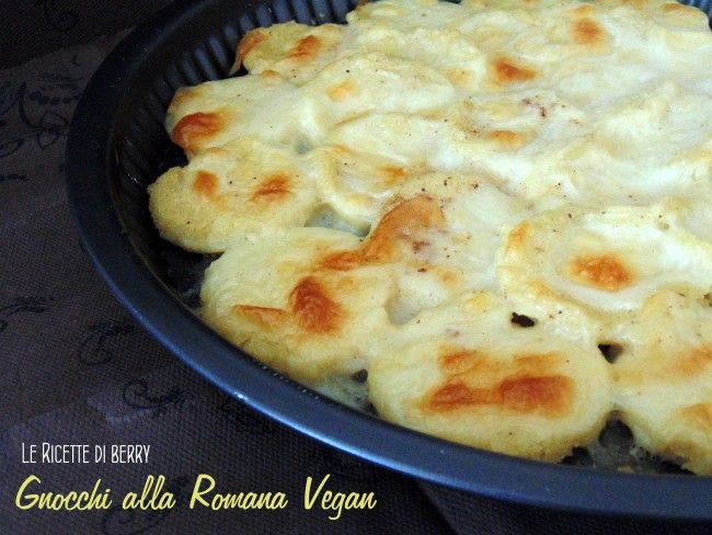 Gnocchi alla Romana Vegan