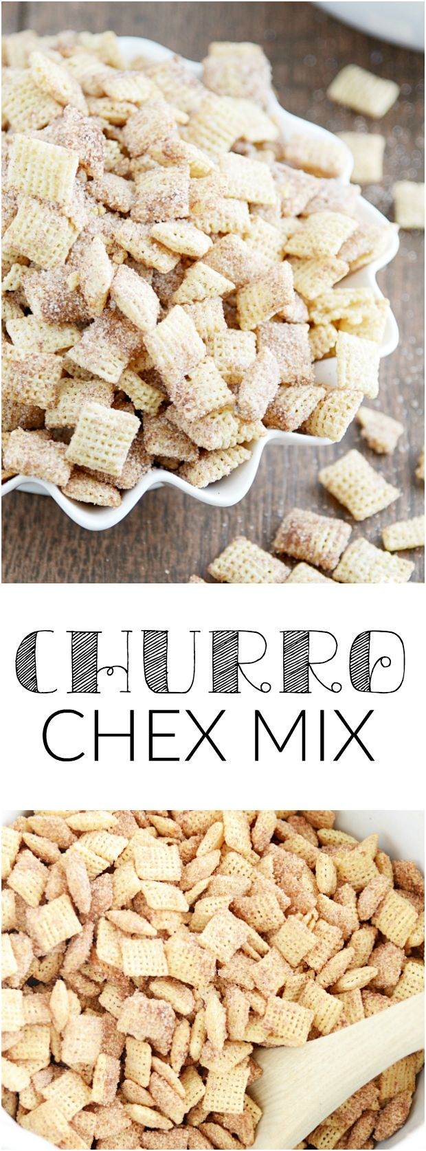 Allergy Friendly Churro Chex Mix Recipe (GF, DF, Egg, Soy, Peanut/Tree nut Free, Top 8 Free, Vegan) by Something Swanky guest posted on Allergy Awesomeness