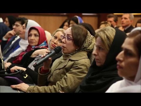 صحبت های چند تن از مصرف کنندگان محصولات آنجکس در همایش تهران