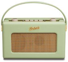 Roberts RD60 Revival DAB/FM RDS Digital Radio With Up To 120 Hours Battery Life - Leaf:Amazon.co.uk:TV & Home Cinema
