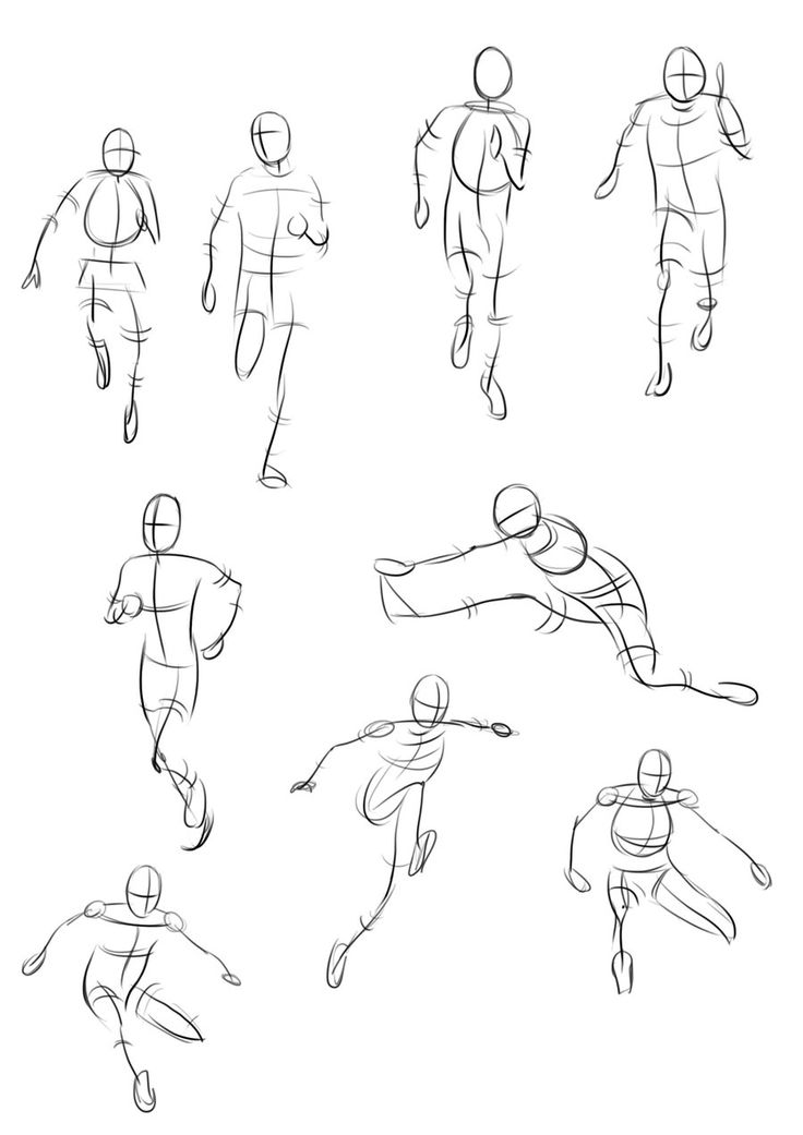 Gesture Drawings of People - Bing Images
