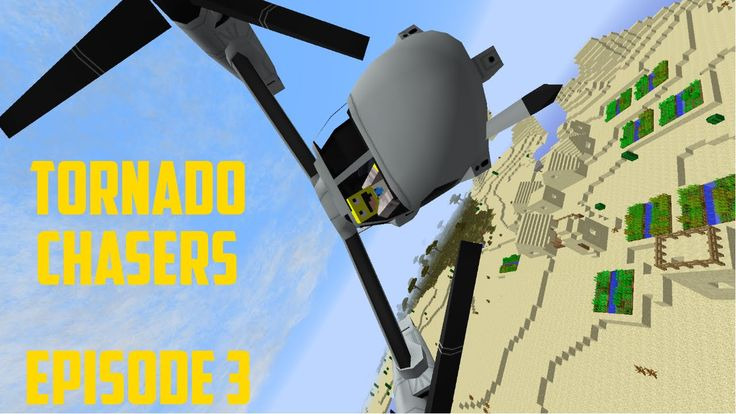 Minecraft The Tornado Chasers Series~ Episode 3