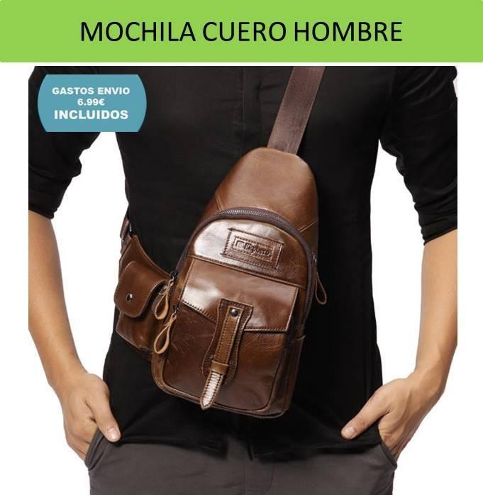 ¿Ya sabéis donde comprar mochilas de cuero para hombres con envío a España? Tienda de mochilas para hombre, bolsos y bandoleras de cuero y piel natural y...