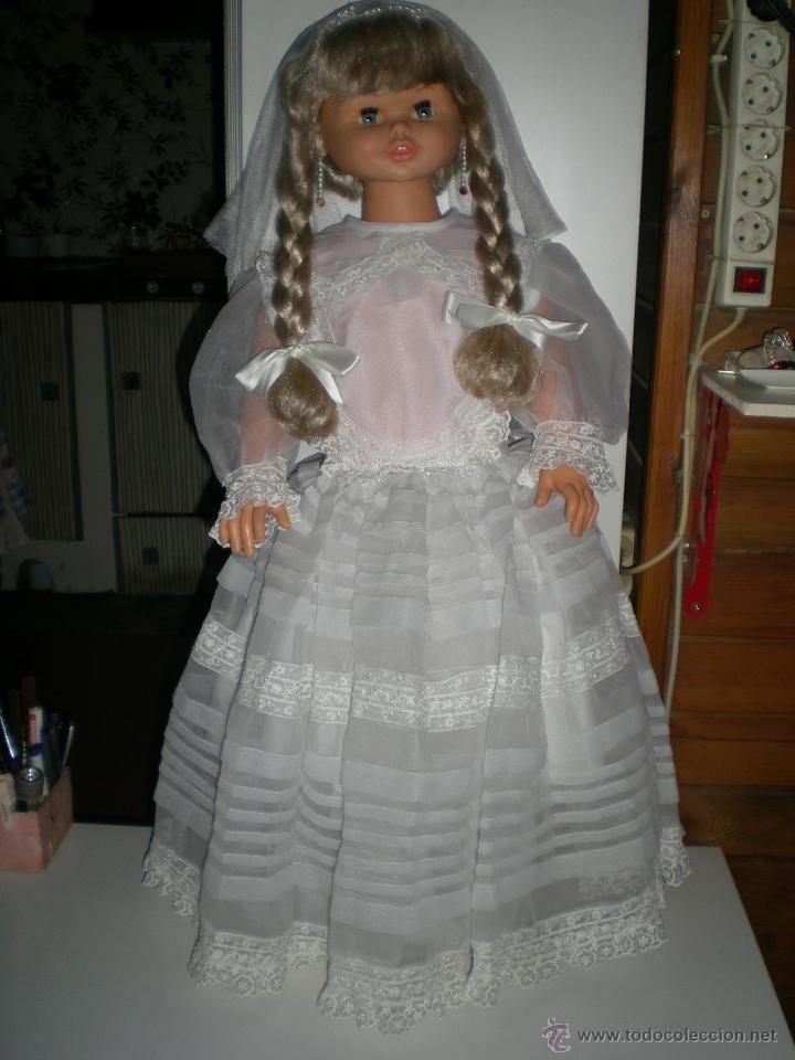 preciosa muñeca rosaura de comunion de jesmar completa de origen años 80 muy buen estado!!