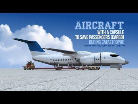 L'aereo super-sicuro con la fusoliera che si stacca - Focus.it