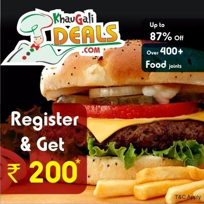 Khaugalideals offers on New User, Register & Get Rs200............