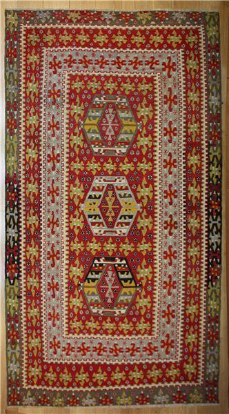 R8178 Rug Store Vintage Turkish Esme Kilim Rugs