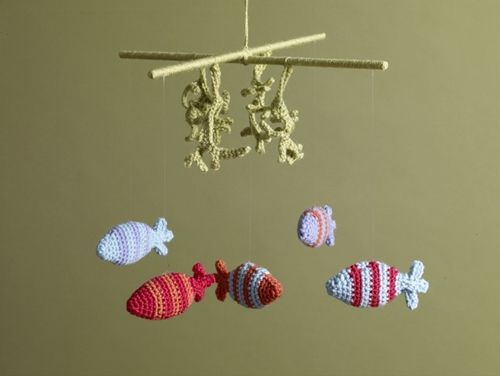 Amigurumi Sheep Baby Mobile : 81 best crochet baby mobiles images on pinterest crochet baby