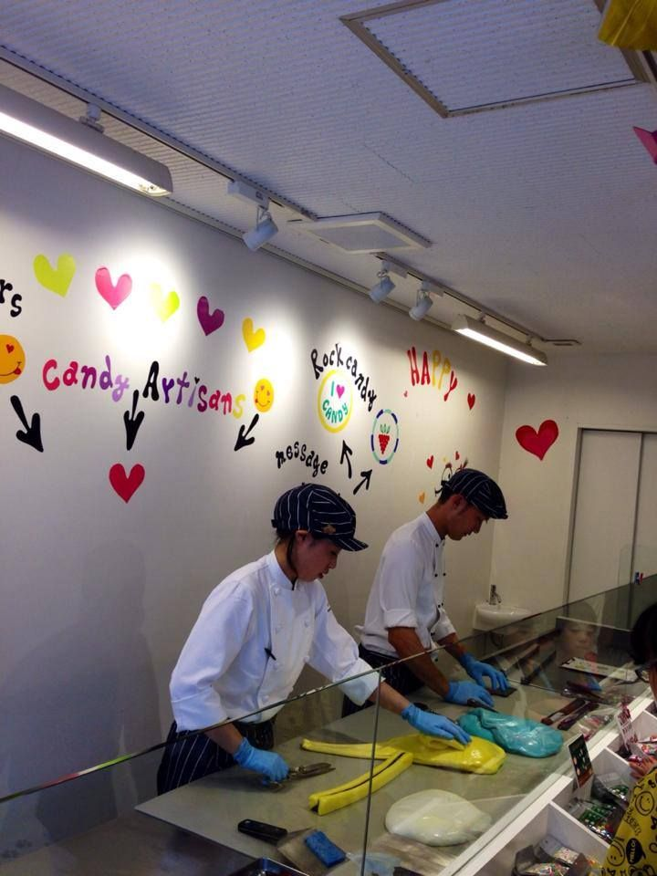 #뷰티밋츠의 일본 소식 3탄! 도쿄의 핫 플레이스, 오모테산도에서 발견한 사탕전문점이에요 +_+ 직접 만드는 모습도 볼수있어요 !!  #치비마루코 #사탕도 이렇게 깜찍하다니 www.beautymeets.com