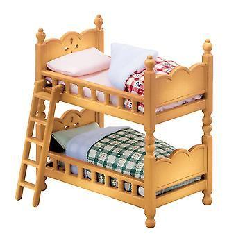 Epoken Sylvanian familier Sylvanian Baby og barn rommet satt dobbel-dekk Bed 25650(JAPAN IMPORT) - 104 kr