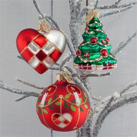 Brink Nordic juletræspynt - Årspakke 2015 Smuk håndlavet dekoration til juletræet