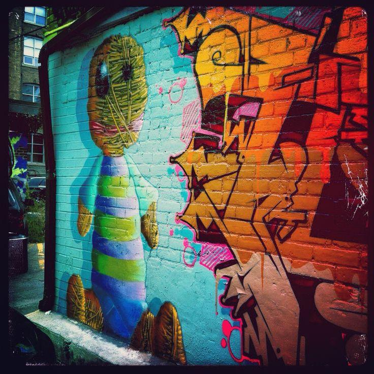 Street art. Graffiti art