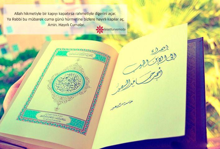 Allah hikmetiyle bir kapıyı kapatırsa diğerini açar. Ya Rabbi bu mübarek cuma günü hürmetine bizlere hayırlı kapılar aç Amin. Hayırlı cumalar... 🙏 😇 Jumma mubarak... 🙏😇 #jummamubarak #jumma #cuma #hayırlıcumalar #hayirlicumalar #tesetturvemoda #hijab #hijabfashion #turban #tesettur #muslim #hijabworld #cumalar #hayırlı #world #dua #amin #mübarek#muslim #muslimah #cuma #takip #takipçi #turban #tesettür #hijabers #follow