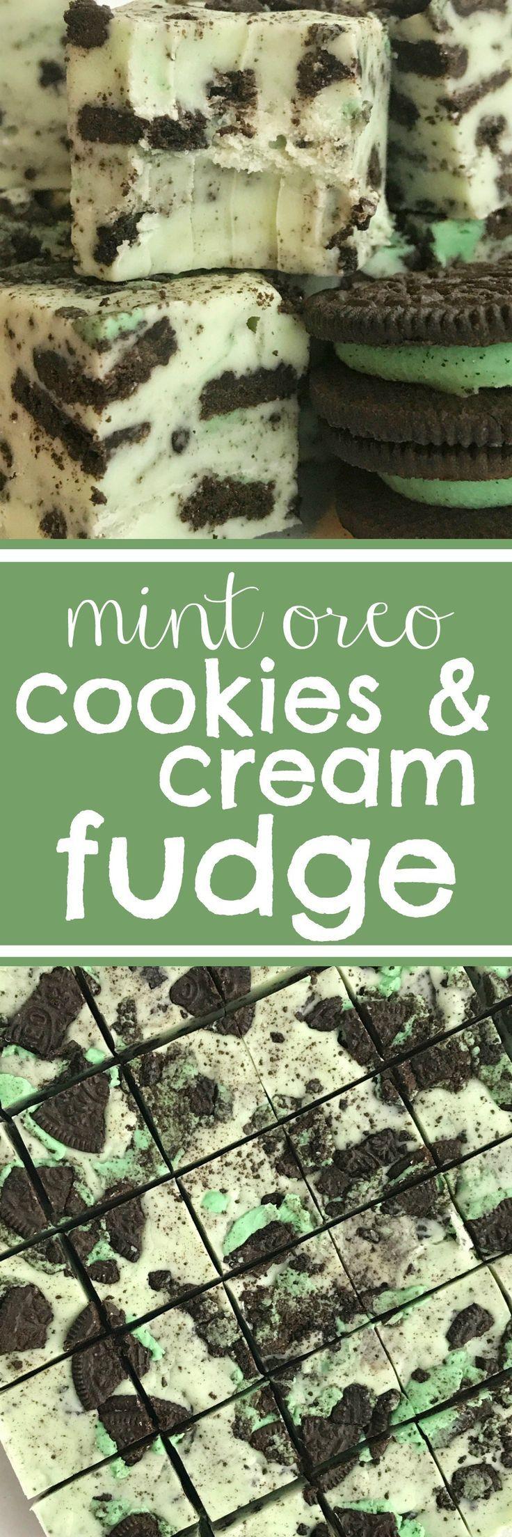Fudge | Mint | Mint Fudge | Christmas Recipes | Christmas Candy |Mint Oreos | Oreos | Dessert | www.togetherasfamily.com #mintrecipes #christmasrecipes #christmascookies #fudgerecipes #fudge