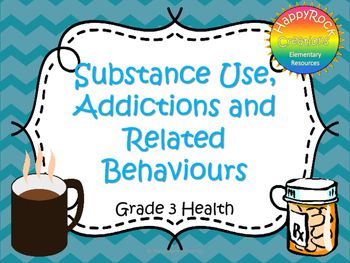 Looking for a great way to review or assess the grade 3 Ontario health strand Substance Use, Addictions and Related Behaviours? Check out these task cards! These 12 task cards cover a range of curriculum expectations and content information (legal/illegal substances, impact of substance use and healthy decision making).