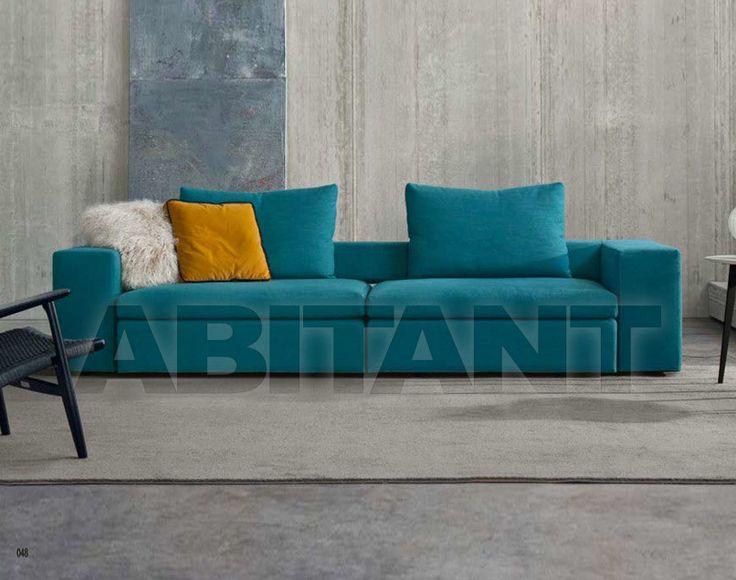 Диван бирюзовый Friulimport Srl Skate Divano cm 220 , каталог мягкой мебели: фото, заказ, доставка - ABITANT , Москва