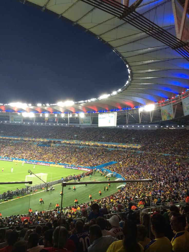 Maracana stadium. Rio de Janeiro, Brazil.   Spain-Chile. Fifa World Cup 2014