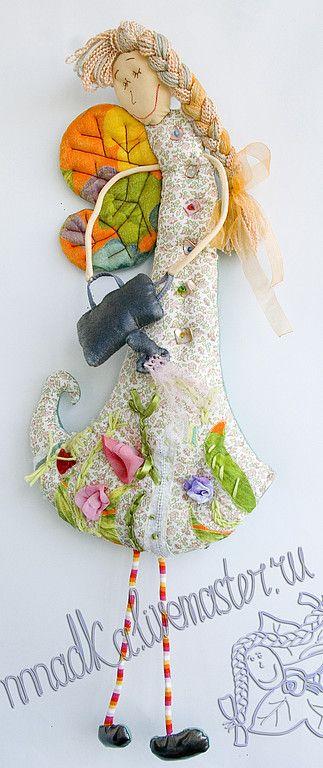 Сказочные персонажи ручной работы. Ярмарка Мастеров - ручная работа феечка с леечкой. Handmade.