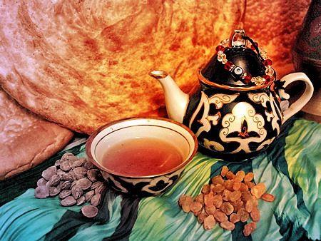Узбекский чай и узбекские чайные традиции
