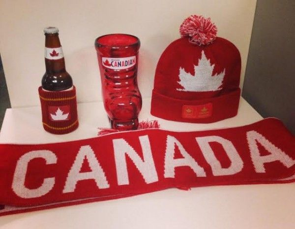 Enter to win a Molson Canadian Victory Swag Prize Pack (incl. a skate boot beer glass, beer koozie, hat and scarf) (CAN, must be 19 years and older) ends 2/24