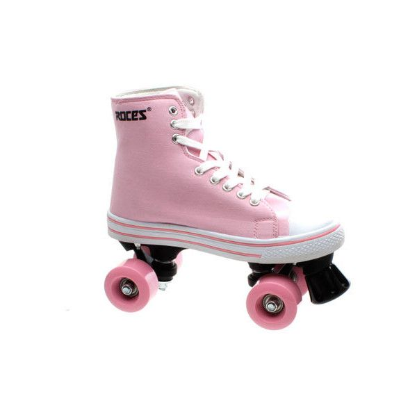 Roces - Kuod Pink Kids Quad Roller Skates - Kates Skates FREE UK... ($53) ❤ liked on Polyvore featuring shoes and skates