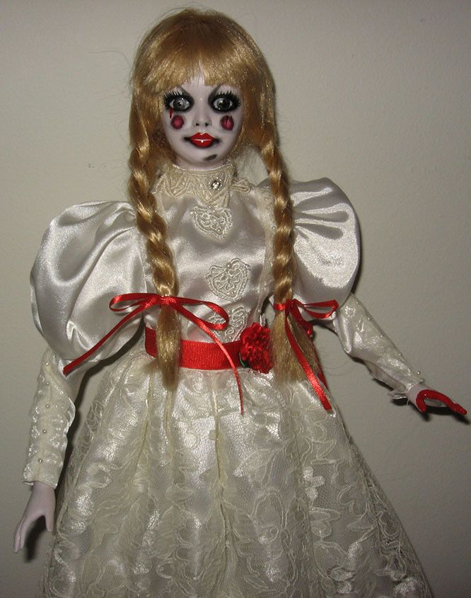 Dolls, Clothing & Accessories Dolls & Bears Aggressive Living Dead Dolls Annabelle