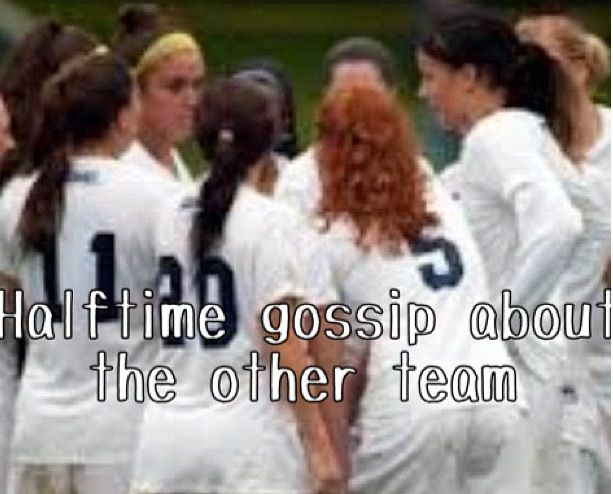 Definitely on my team. Us: #6..uh yeah...she tripped me!...what a jerk...lets knock her out...#4...how dare she...eww...