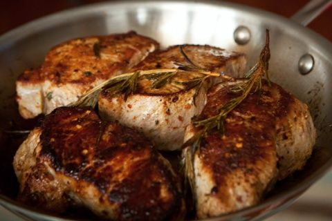 Succulent Pork Chops: Roasted, Pan Seared, and Grilled | Yummly