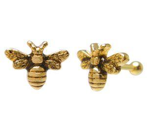 Honey Bee Tragus Bar ZTH28