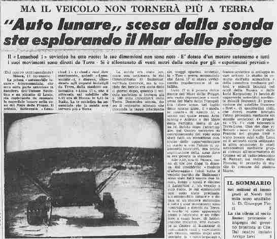 Viacheslav Dovgánera operatore di Lunochod 1, uno dei due robot lanciati dall'URSS per l'esplorazione della Luna, cancella ogni dubbio su Apollo 11.